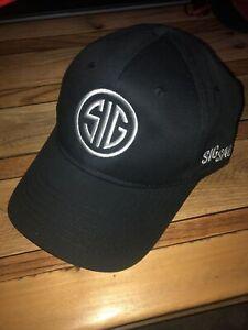 new sig sauer baseball cap hat adjustable