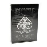 Black Bicycle Ghost Playing Cards by Ellusionist
