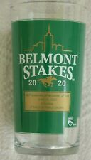 "2020 Belmont Stakes 152 Horse Racing Souvenir Glass - Winner ""Tiz the Law"""