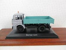 NOREV. Berliet GAK Flatbed Truck. Grey and Green 1:43. NOR 690000