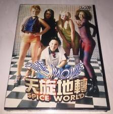 Spice Girls 1997 Spice World Movie Taiwan Special Cover DVD Sealed  not Promo CD