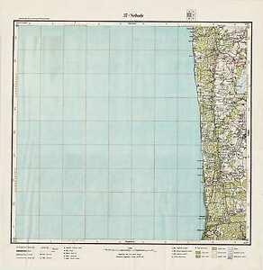 1927 Vintage army topographic map NEIBADE/NEIBĀDE (Latvia), scale 1:75 000