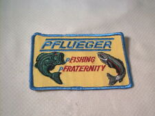 Vintage old fishing Pflueger Patch