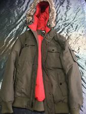 Authentic Mens North Face Gotham Jacket Black Ink Green Size Medium RRP £340