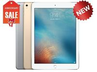 "NEW Apple iPad 5th 2017, 128GB WiFi + Cellular (Unlocked) 9.7"" GOLD GRAY SILVER"