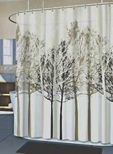 SPLASH FOREST TREE PEVA VINYL BATHROOM SHOWER BATHTUB CURTAIN LINER 70 X 72