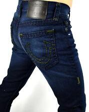 True Religion Men's $299 Rocco Dk Neutron Super T Relaxed Skinny Jeans - 101769