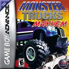 Monster Trucks Mayhem for Game Boy Advance L@@K New !!!