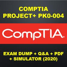 CompTIA Project+ PK0-004 Exam Q&A+SIM (2020)