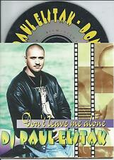 DJ PAUL ELSTAK - Don't leave me alone CD SINGLE 2TR CARDSLEEVE Happy Hardcore NL