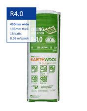 R4.0 | 430mm Knauf Earthwool® Thermal Ceiling Insulation Batts