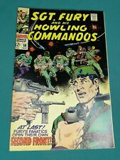 MARVEL COMICS GROUP SGT. FURY AND HIS HOWLING COMMANDOS #58 9/1968 AWESOME COPY!