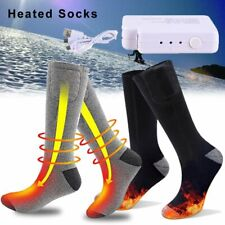 Chargable Battery Electric Heated Socks Boot Feet Warmer Socks Winter Outdoor