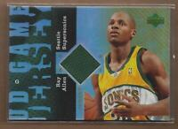 2006-07 UD Reserve Game Jerseys #RA Ray Allen Jersey