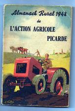 Almanach rural 1948 de l'action agricole, Picardie