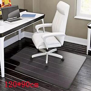 Non Slip Office Chair Desk Mat Floor Computer Carpet Protector PVC Plastic Clear
