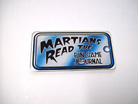 Bally Revenge From Mars PinGame Journal NOS Pinball Machine Martians Key Chain