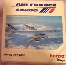 BOEING 747-200F AIR FRANCE CARGO - scala 1/500 HERPA (502450)