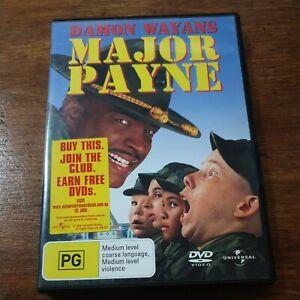Major Payne DVD R4 Like New! FREE POST
