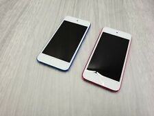 2 x Apple iPod Touch Blue / pink (6th Gen,  ) A1574  - FAULTY  password locked