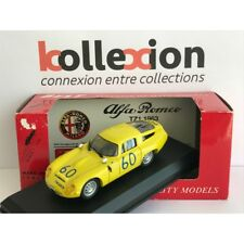BEST MODEL 9061 ALFA ROMEO TZ1 n°60 Targa Florio 1965 1.43 NB