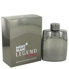 Montblanc Legend Intense by Mont Blanc 3.4 oz EDT Cologne Spray for Men NIB