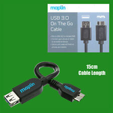 OTG On the Go Male Micro USB 3.0 to Female USB Adapter for Mobile Tablet Device