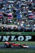 Jochen Rindt Lotus 72C Winner British Grand Prix 1970 Photograph 2