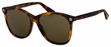 Gucci Sunglasses GG0024S 002 Havana | Brown Lens