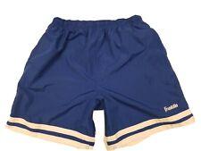 Vtg Franklin Sports Sz L Blue Mens Athletic Soccer Lightweight Shorts