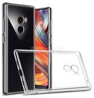 Transparent Clear Silicone Slim Gel Case For Xiaomi Mi Mix 2