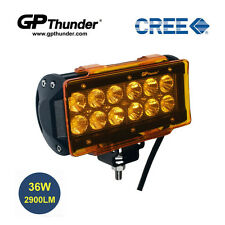 6.5 inch Off Road 36W CREE LED Fog Lamp Work Light Bar SUV Jeep DRL Cover Flood