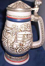 Avon Automotive Beer Stein Mug - Handcrafted in Brazil 1979 Numbered 584480