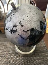 Black And Silver Globe Desktop