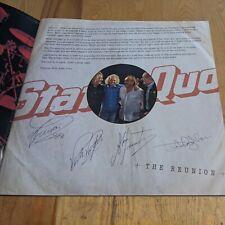 More details for 2013 status quo tour programme preprinted signatures