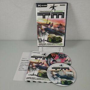 Trackmania Sunrise + Demo PC Computer Racing Video Game Manual PAL