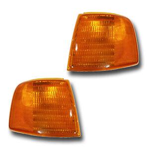 Fits 93-97 Ford Ranger Driver + Passenger Parking Side Marker Light Lamp 1 Pair