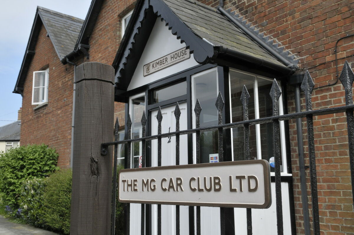 MG Car Club Shop