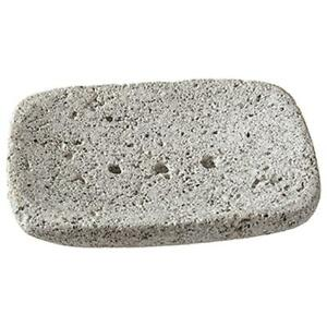 PUMICE STONE SOAP DISH Draining RECTANGULAR or OVAL Your Choice By Kingsley