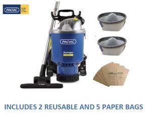 Pacvac Superpro 700 Backpac vacuum cleaner