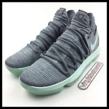 Nike Zoom KD 10 X Cool Grey Igloo Durant Mens Size 11 Basketball 897815-002