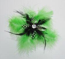 Floaty feather fascinator Alice band/headband. Bright colours. Wedding/races UK