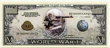World War 1   Million Dollar Bill