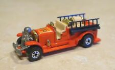 Vintage 1980 Hot Wheels Old Number 5 Fire Truck Red
