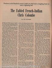 Dakota Territory's French-Indian Chris Colombe Family+Barney,Dorian,Drapeau,Pete