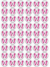X54 PINK RED BUTTERFLIES WEDDING BIRTHDAY CUP CAKE EDIBLE TOPPERS DECORATIONS