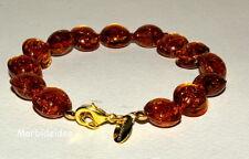 BRACELET Amber Avventurina GOLD Murano Glass JEWEL VENICE BIJOUX MORBIDEIDEE