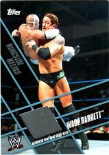 WWE Wade Barrett Topps 2011 Ringside Relics Used Grey Ring Skirt Relic Card