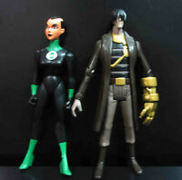 """LOT OF 2 DC UNIVERSE YOUNG JUSTICE JLU Katma Tui AND OTHER ONE ACTION FIGURE 4"""""""