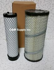 Ford New Holland loader skid steer Tractor inner outer air filter set